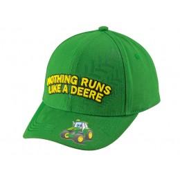 "Kinder Cap ""Nothing Runs Like A Deere"""