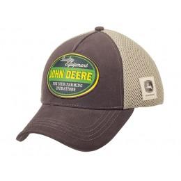 Mesh Cap Quality Equipment braun/beige